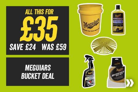 All This For £35 Meguairs Car Cleaning Bucket Deal (Save £24)