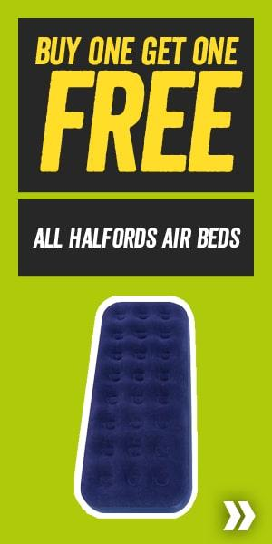 Buy One Get One Free All Halfords Air Beds