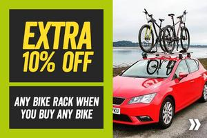Extra 10% Off Any Bike Rack When You Buy A Bike