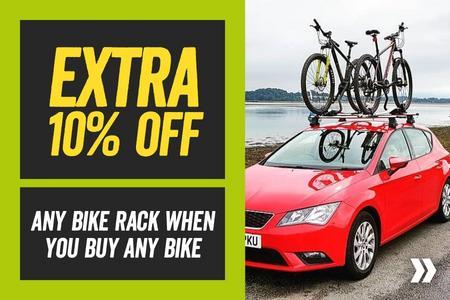 Extra 10% Off Any Bike Rack When You Buy A Bike