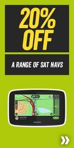 Save 20% off a Range of Sat Navs