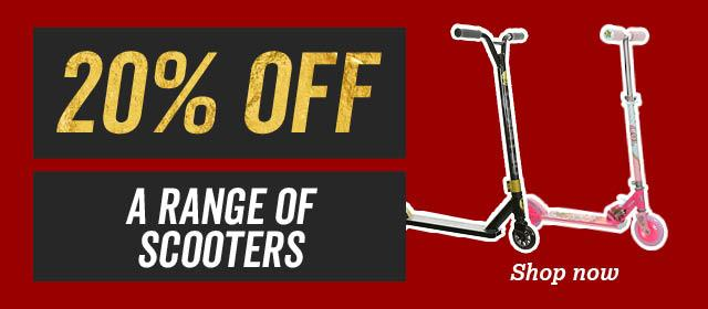 20% off a range of scooters
