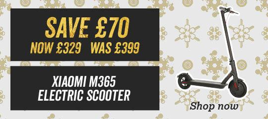 Xiaomi M365 Electric Scooter Save £70 WAS £399 NOW £329