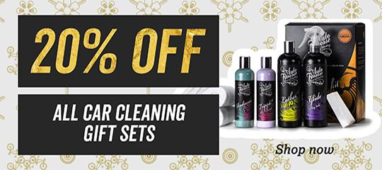 20 percent off all car cleaning gifts