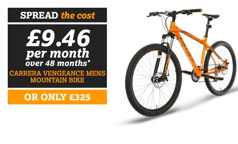 SPREAD THE COST Carrera Vengeance Mountain Bike