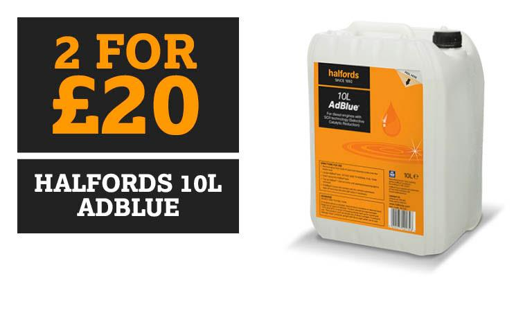 2 for £20 Halfords AdBlue