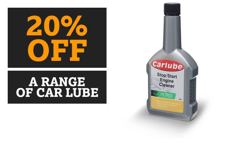20% Off a Range of Carlube
