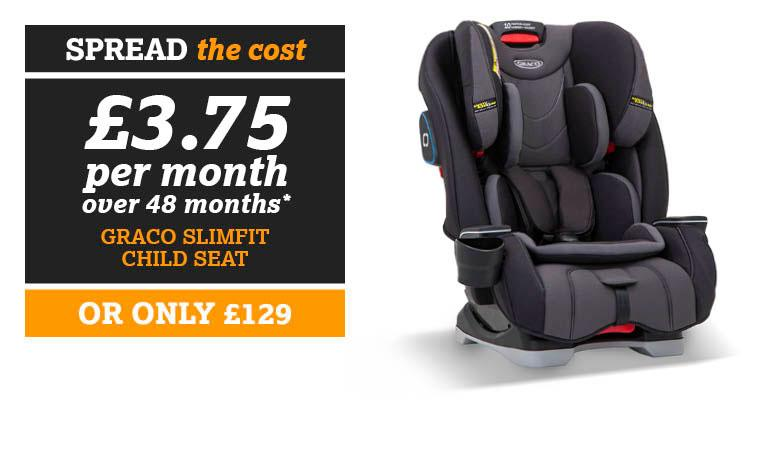 SPREAD THE COST Graco Slimfit Child Seat