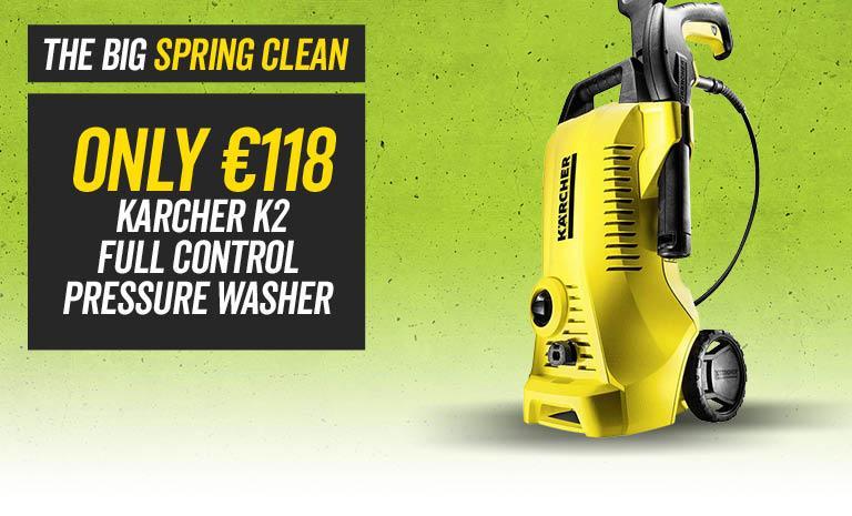 Karcher K2 Full Control Pressure Washer ONLY €118