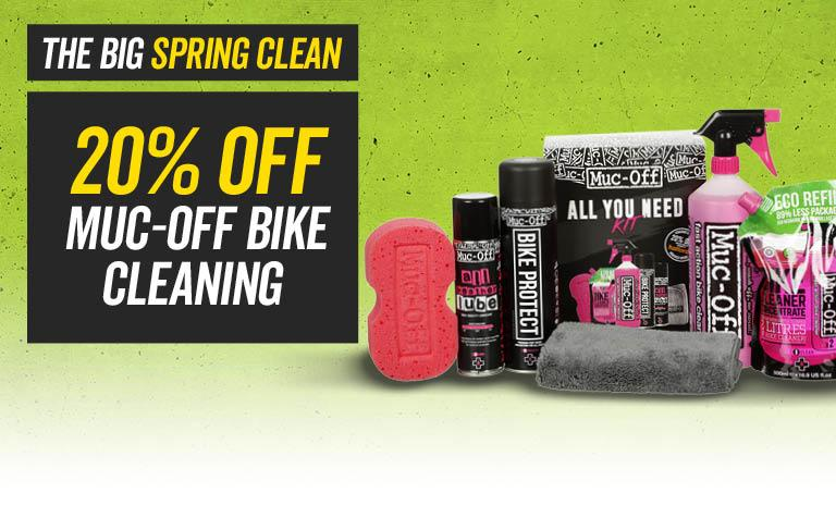 THE BIG SPRING CLEAN 20% off Muc Off Bike Cleaning