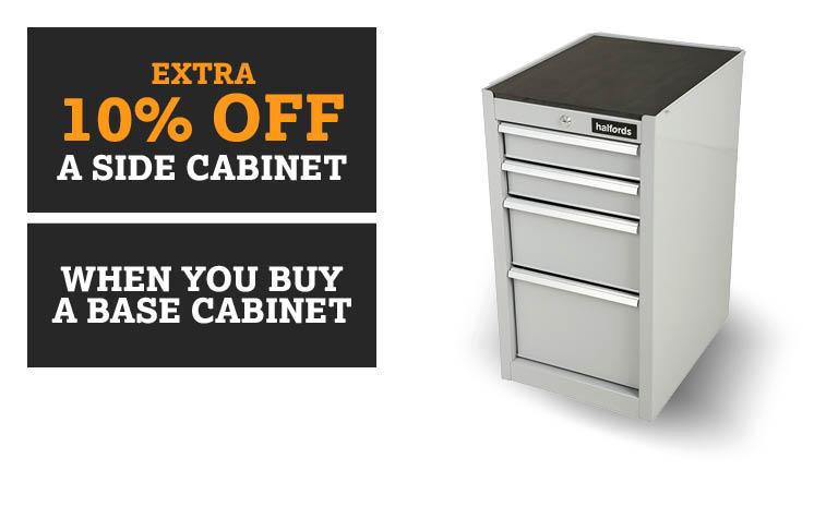 10% off a side cabinet