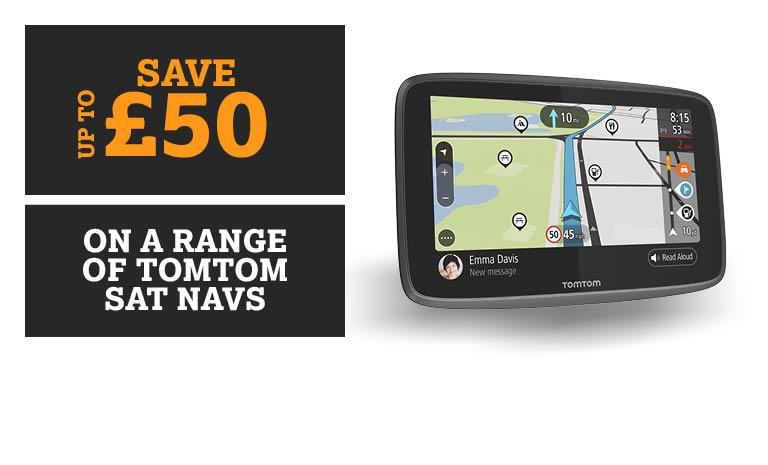Save on Sat Navs