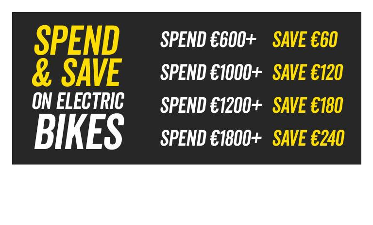 Spend and Save on eBikes