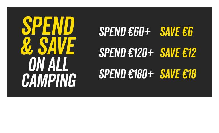 Spend and Save Camping