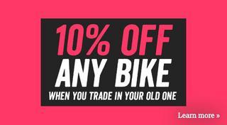 10 percent trade in