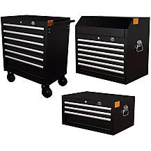 image of Halfords Advanced Tool Chest and Cabinet Bundle