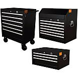 Halfords Advanced Tool Chest and Cabinet Bundle