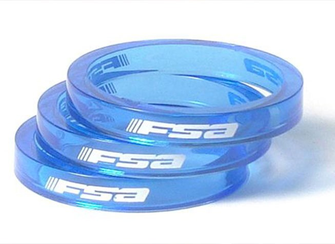 Headsets and spacers