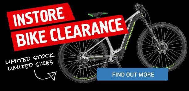 Store Bike Clearance