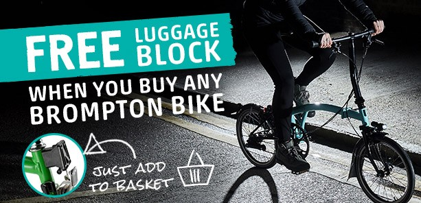 Brompton Free Luggage Block