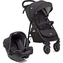 image of Joie Litetrax 4 Wheeler Travel System Bundle