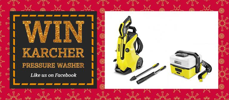 Image for Karcher pressure washer competition - T&C's article