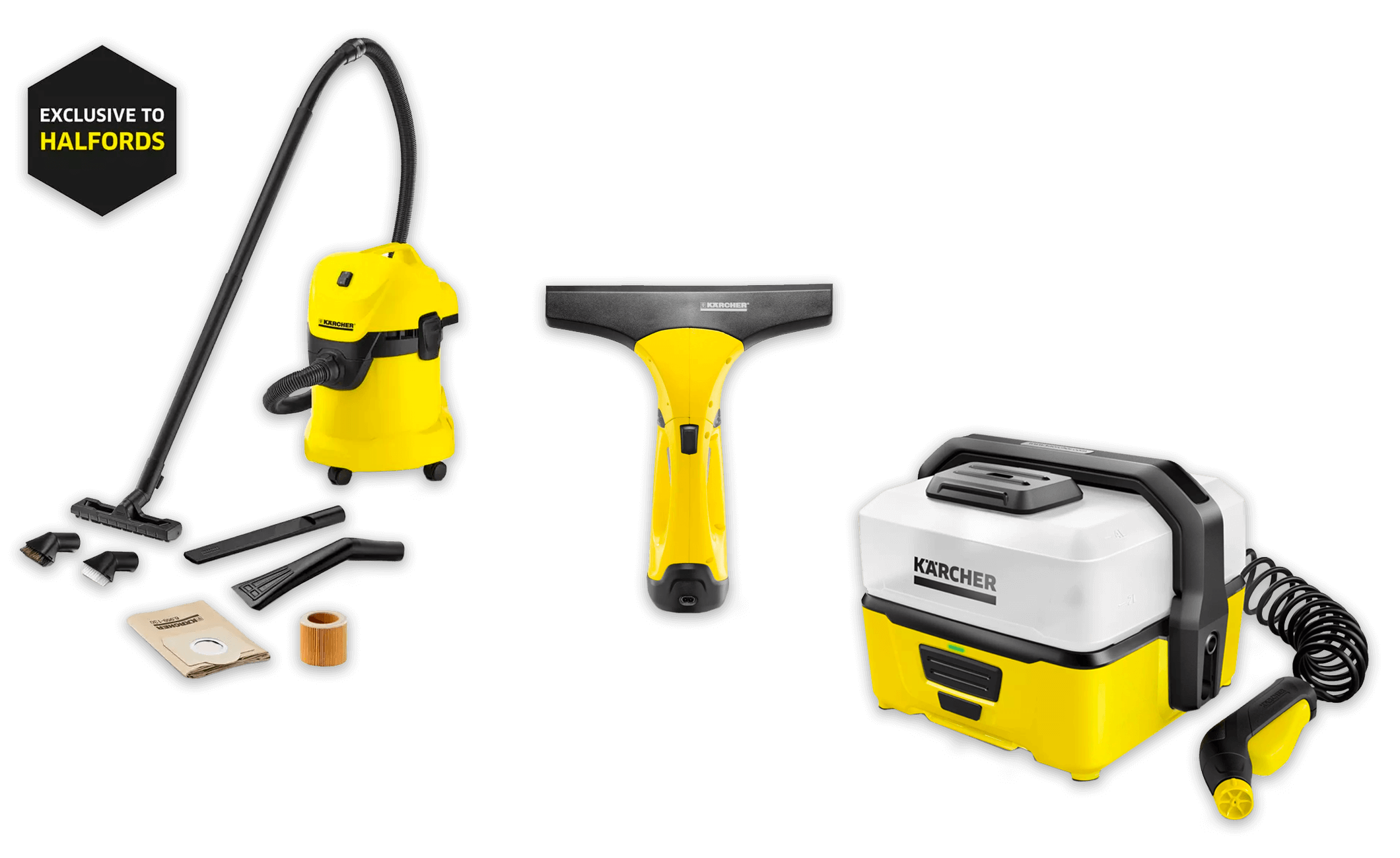 Karcher Vacuum Cleaners & Window Vacuums