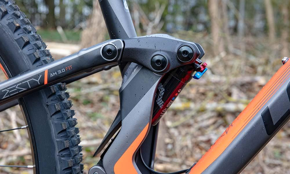 Lapierre Zesty 2019 floating shock