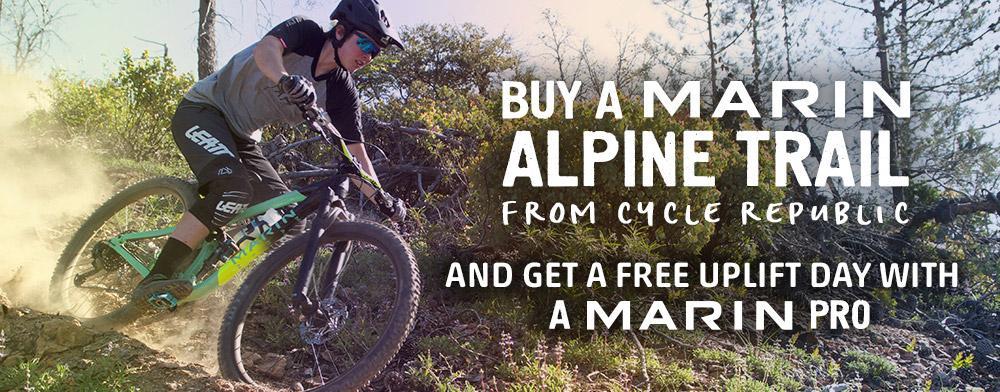 Free uplift day with Marin Alpine Trail