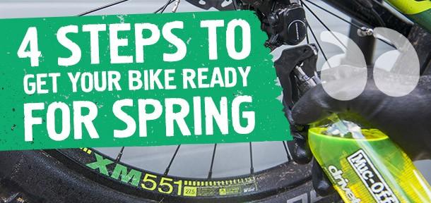 Bike tips for spring