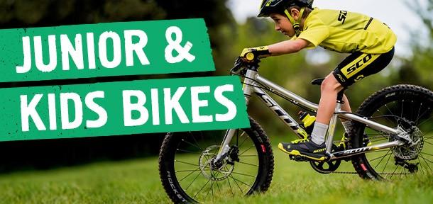 Junior and Kids bikes