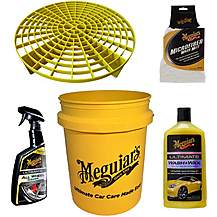 image of Meguairs Car Cleaning Bucket Bundle