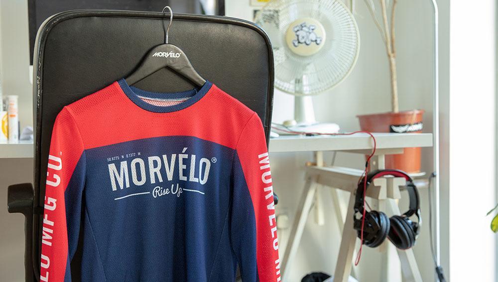 Morvelo mountain bike jersey