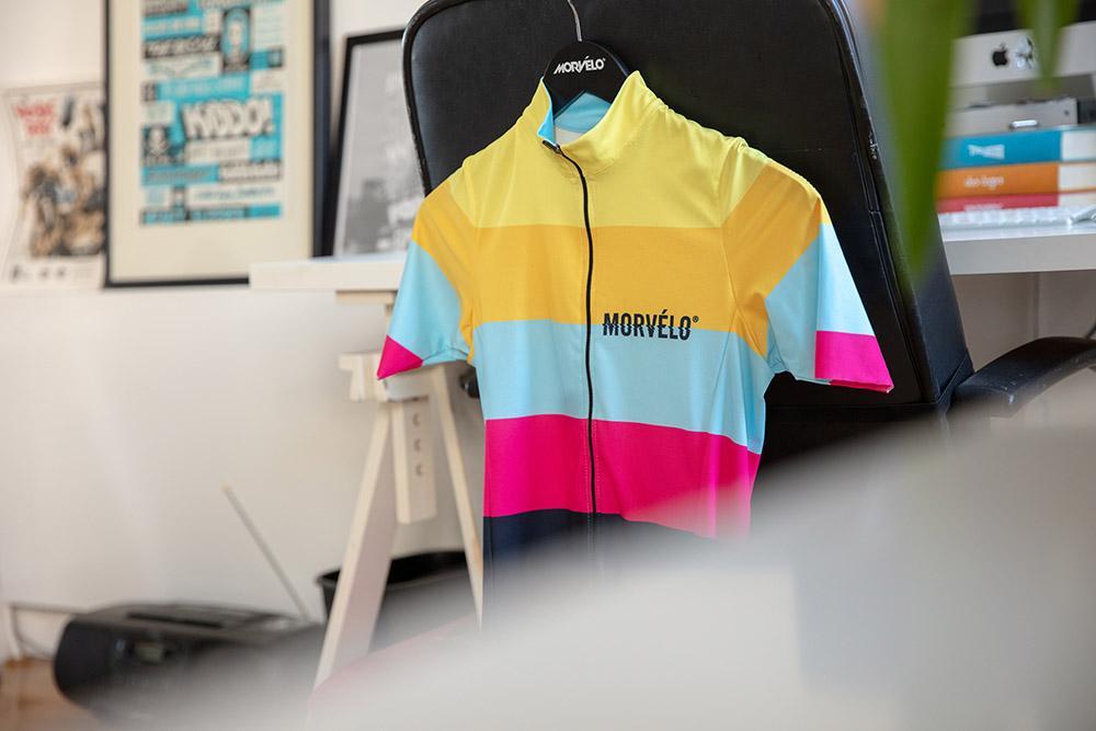 Morvelo road jersey in office