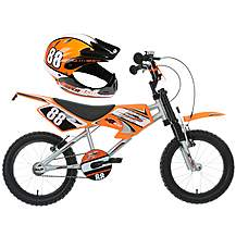 "image of Motobike MXR750 16"" Kids' Bike & Helmet Bundle"