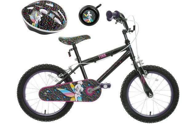 Disney Tinkerbell Kids\' Bike, Helme...