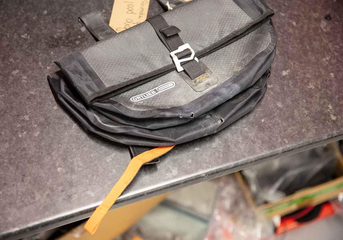Ortlieb 'bar bag with holes