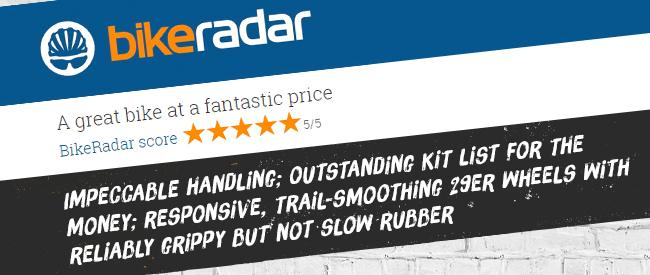 Bike Radar 5 Star Review