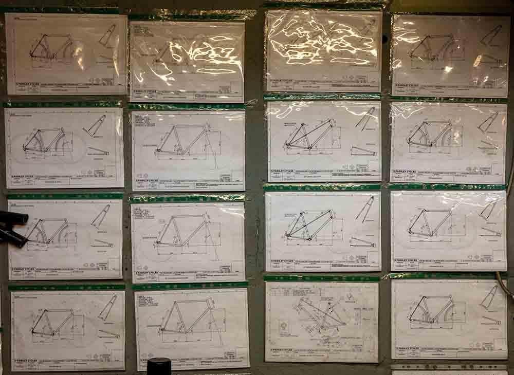 Pashley frame drawings