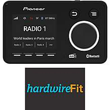 image of Pioneer SDA-11DAB DAB+ Digital Radio Adaptor with Bluetooth Fully Fitted Bundle