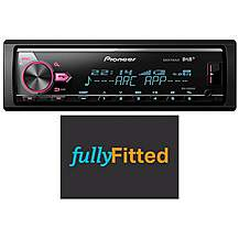 image of Pioneer Mvh-X580DAB Car Stereo Fully Fitted Bundle