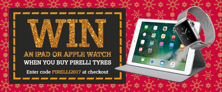 Image for Pirelli prize draw terms and conditions article