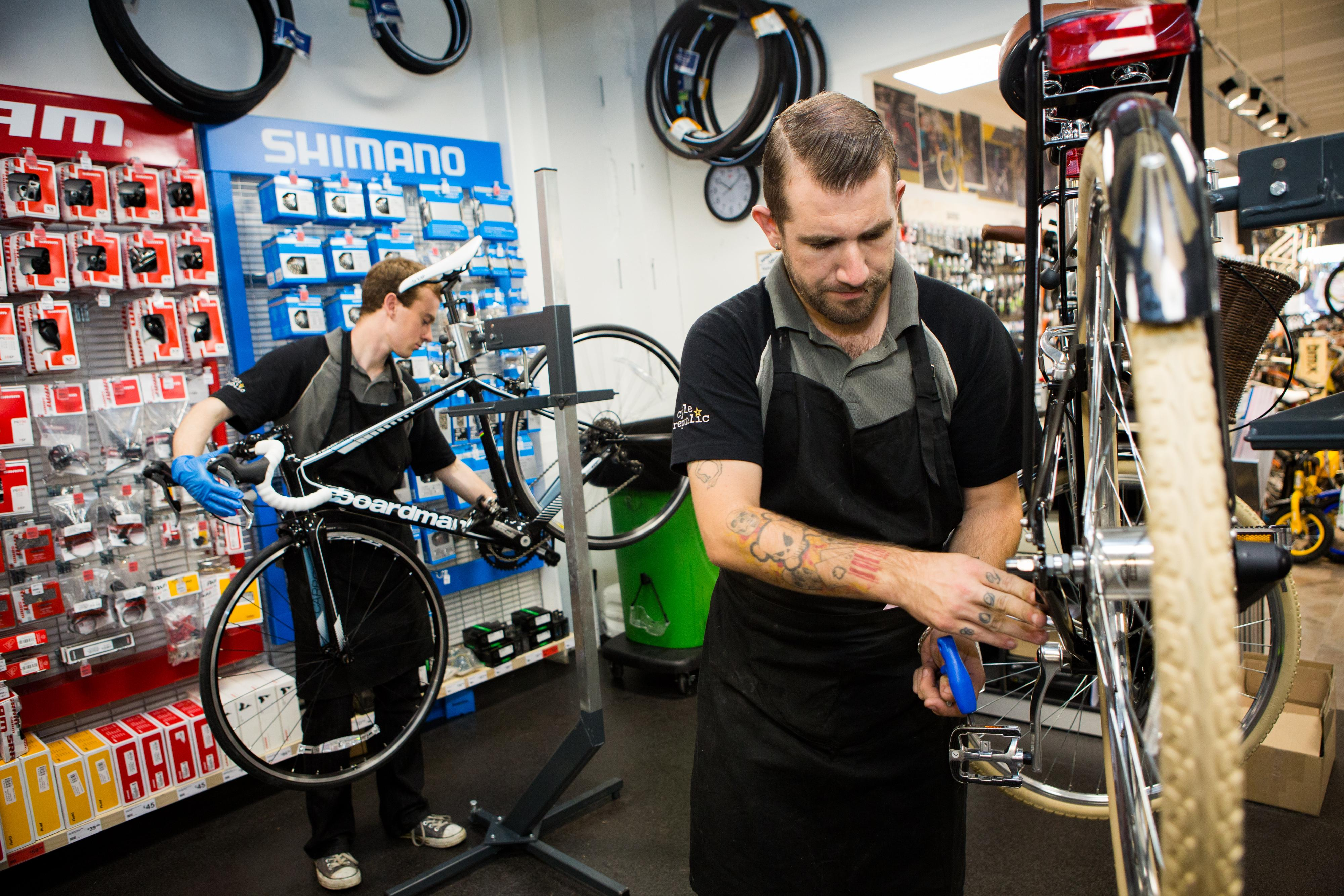 Building your Bike