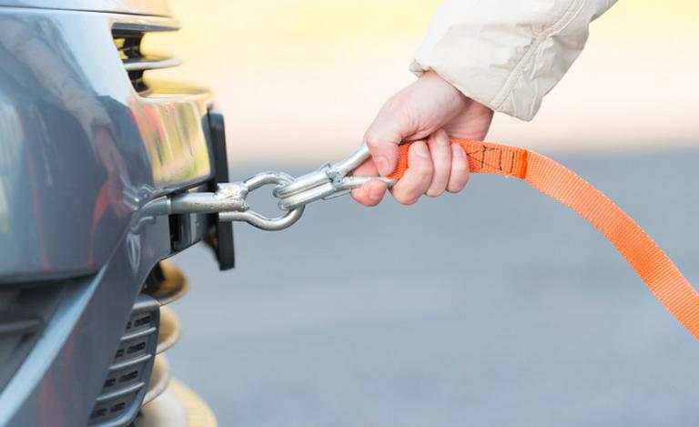 Image for Safety Tips for Towing a Car article
