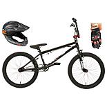 Mongoose Scan R50 BMX bike, Helmet and Gloves Bundle