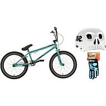 Mongoose Scan R60 BMX bike bundle