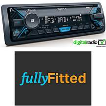 image of Sony DSX-A500BD Car Stereo Fully Fitted Bundle