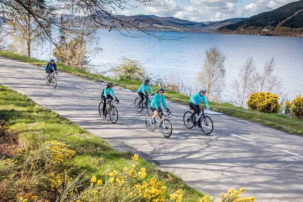 Riders tackle Etape Loch Ness