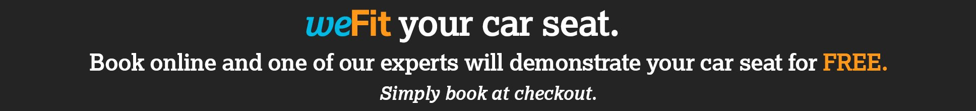 We Fit your car seat at Halfords
