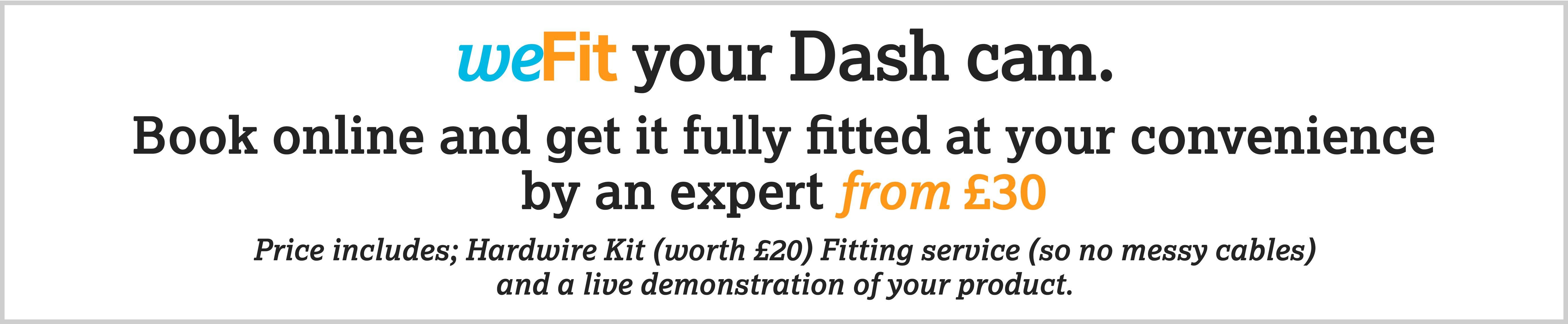 weFit your dash cam
